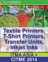 ITMA ASIA-CITME 2014 FLAAR Reports textile printers fabrics transfer t-shirt ink PRINT