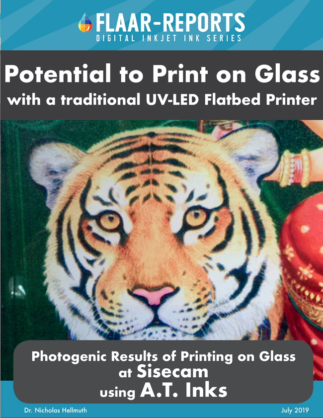 at inks 2019 glass printing